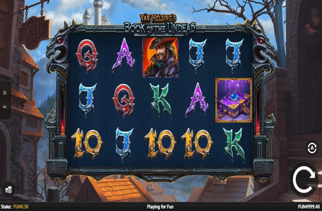 Deze gokkast is ontwikkeld door spelprovider 1x2 Gaming
