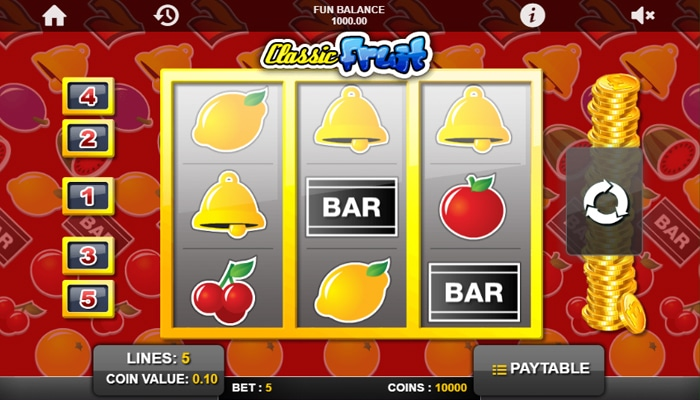 Classic Fruit Gameplay