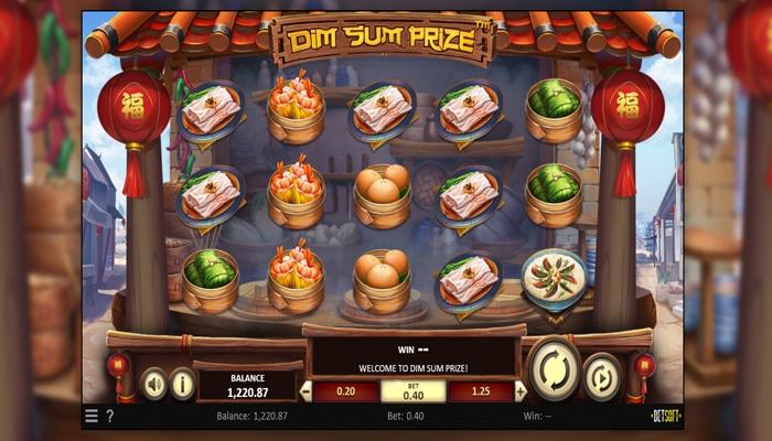 Dim Sum Prize Gameplay
