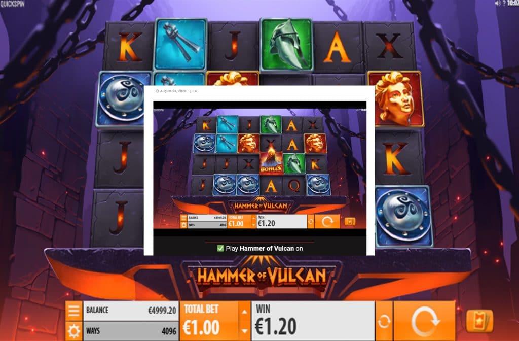 Deze gokkast is ontwikkeld door spelprovider Quickspin