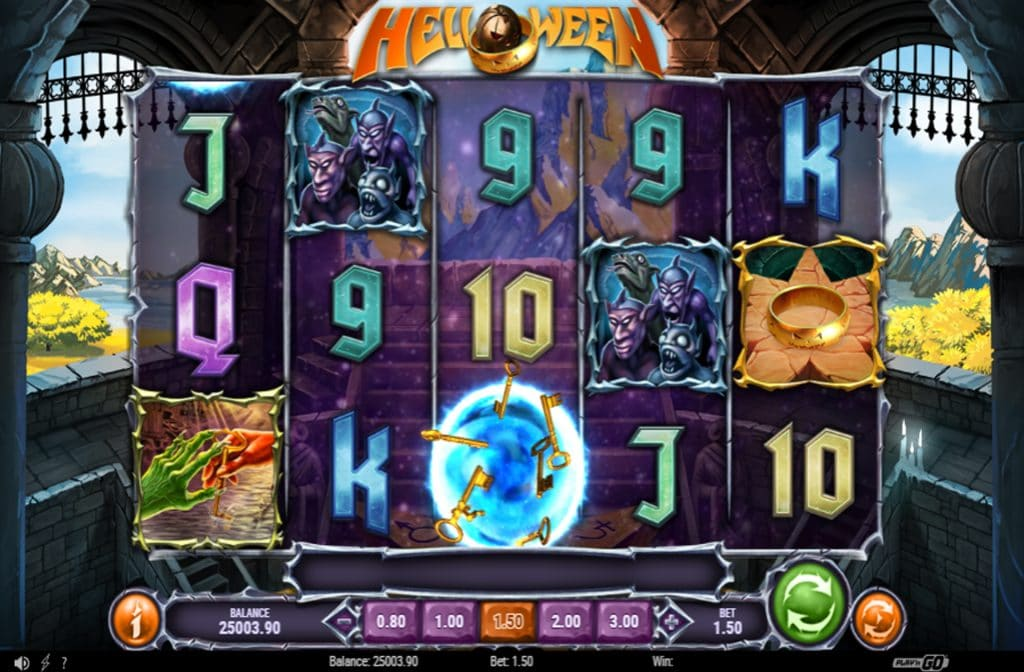De Helloween gokkast is ontwikkeld door spelprovider Play'n GO