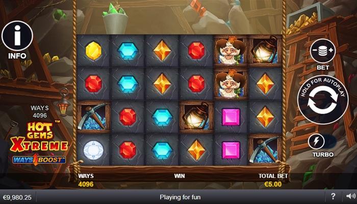 Hot Gems Xtreme Gameplay