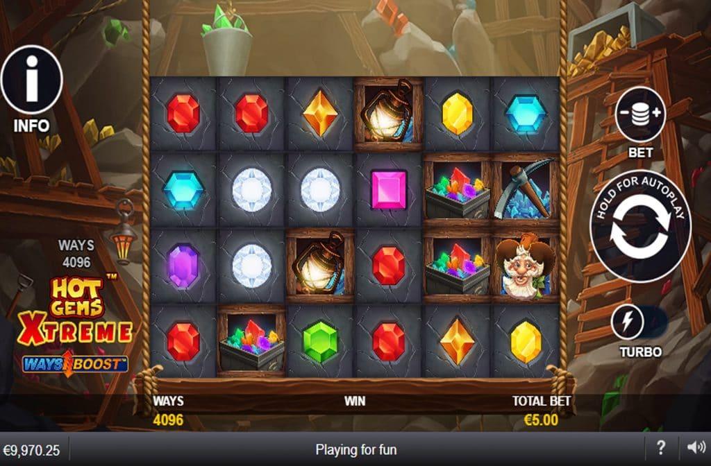 De Hot Gems Xtreme gokkast is ontwikkeld door spelprovider Playtech