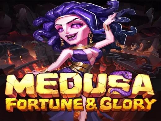 Medusa Fortune & Glory Yggdrasil Logo1