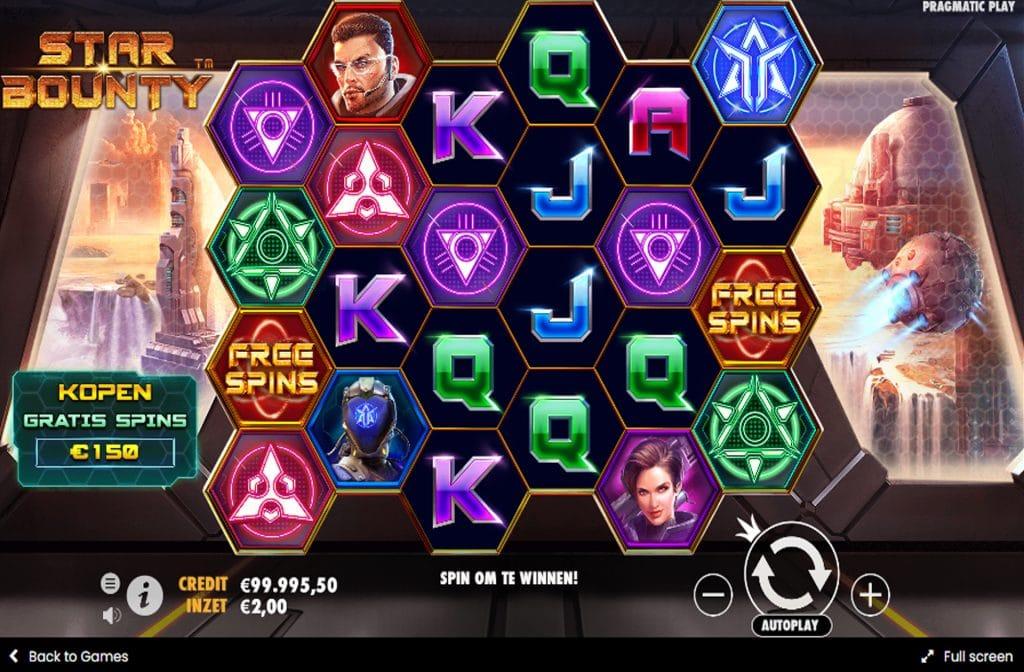 De Star Bounty gokkast is ontwikkeld door spelprovider Pragmatic Play