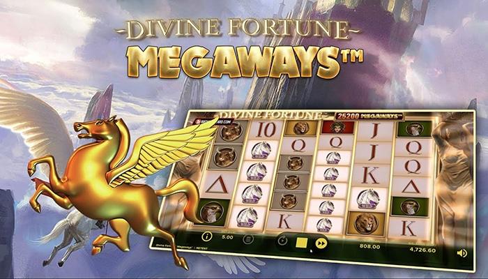 Divine Fortune Megaways heeft een medium volatiliteit