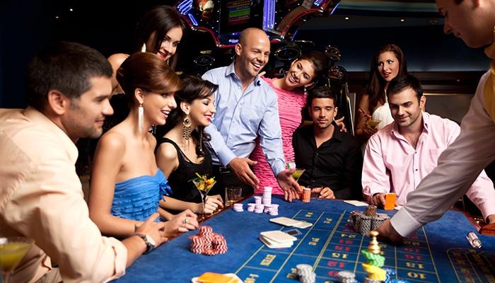 Een avondje naar het casino met vrienden is altijd leuk