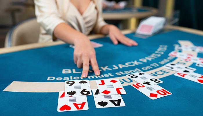 Speel alleen bij uitbetaling van 3 tegen 2 bij Blackjack