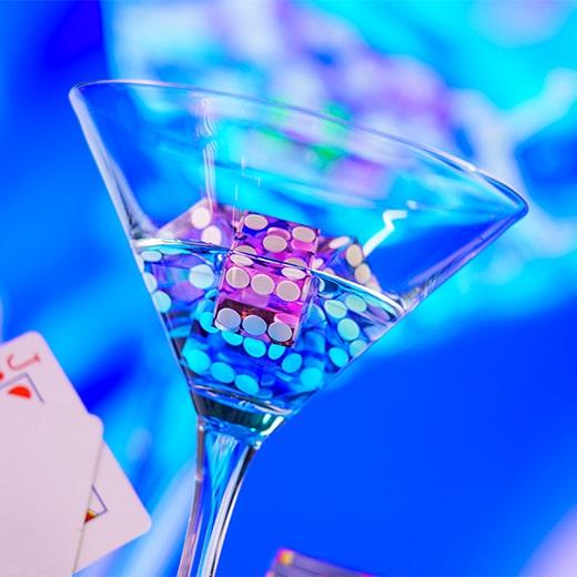 Casinospellen met dobbelstenen
