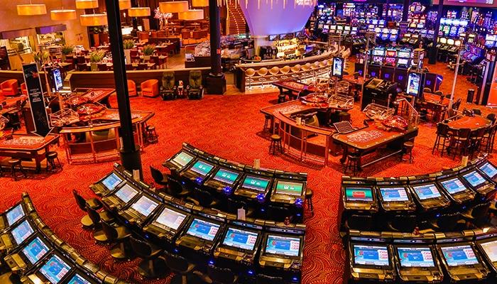 Het interieur van Holland Casino Venlo