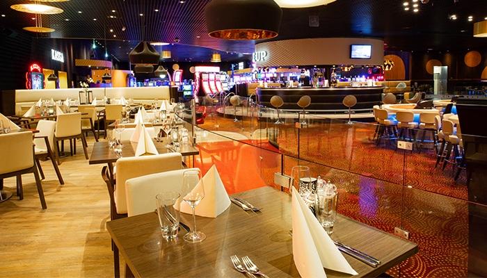 Het prachtige restaurant in Holland Casino Leeuwarden