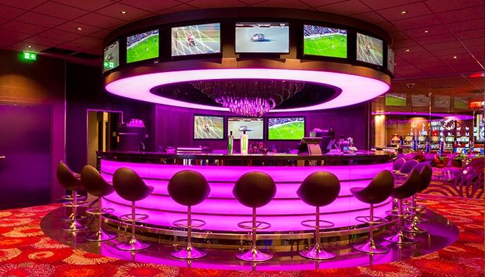 Holland Casino Rotterdam heeft een sportsbar