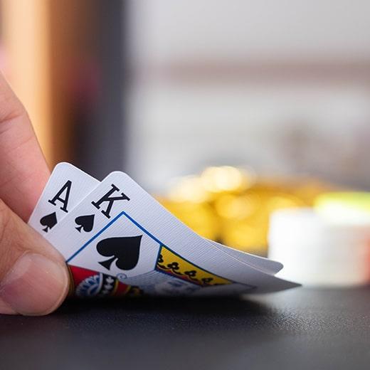 Blackjack voor geld spelen