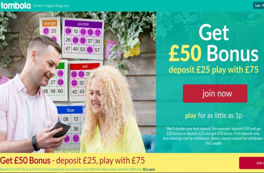 Tombola is een echt Bingo Casino