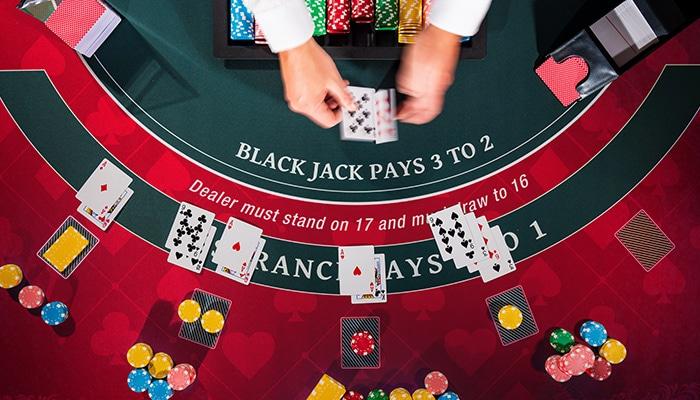 BCB Blackjack dealer