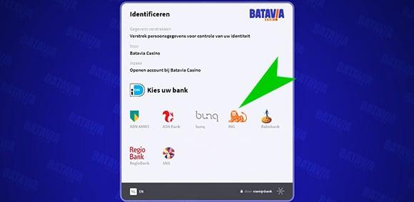 Batavia Casino registreren 2