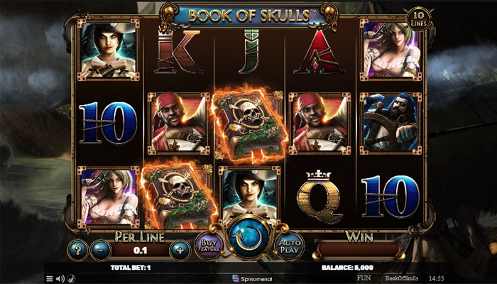 Book of Skulls Gameplay