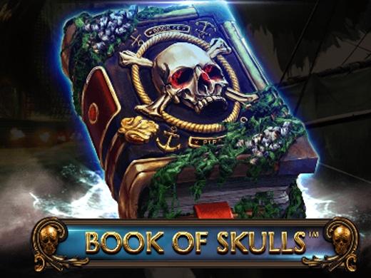 Book of skulls logo