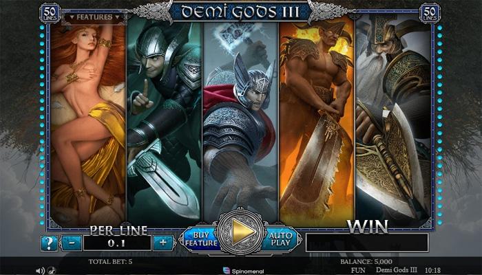 Demi Gods III Gameplay