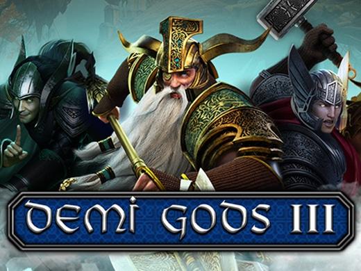 demi gods III logo